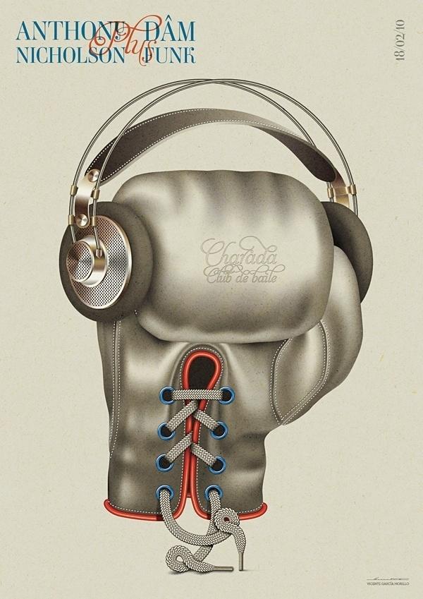 BBS / Alive Objets Series III / Anthony Nicholson & Dâm Funk - www.vicentegarciamorillo.com #illustration #poster