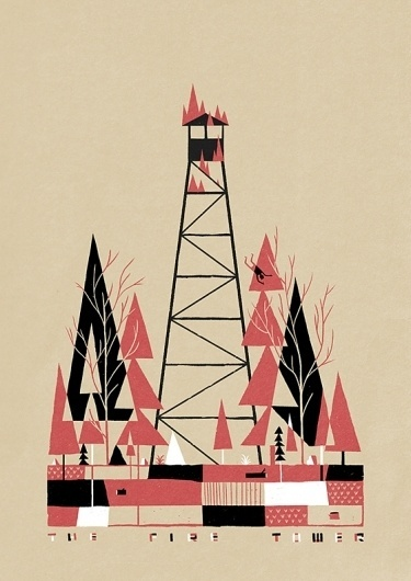 Luke Pearson | Illustration and Comics | Page 2 #luke #the #illustration #pearson #fire #tower
