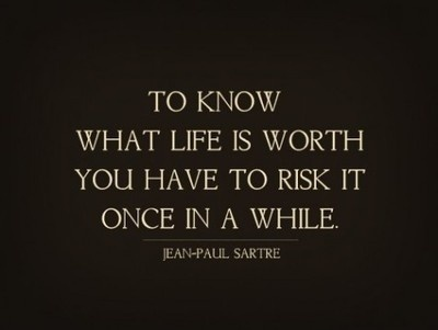 Risk life #inspiration #quotes #typography