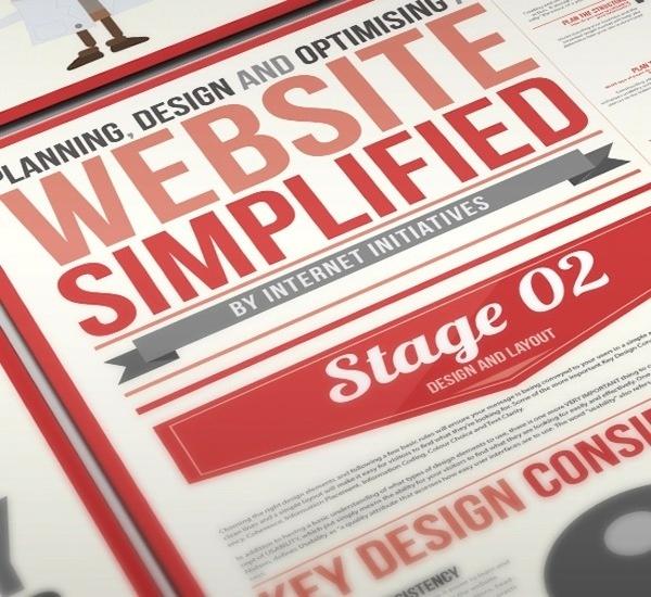 Website Simplified Infographic Design #infographic #design #web