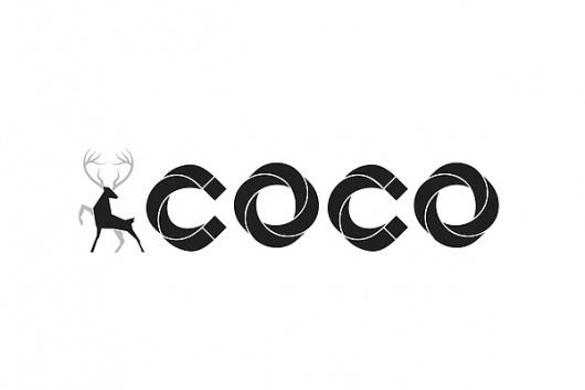 Logo Designs on the Behance Network #deer #white #coco #kelava #black #logo #josip #vodka #jaykay #and #type