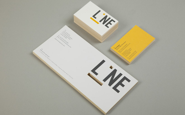 Line — Ranch #die #cut #business #card #print #stationery