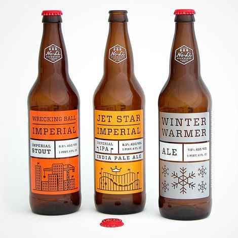 NoLi Imperial Series #beer #design #graphic