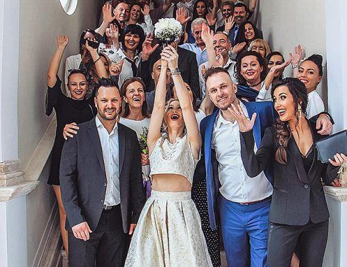 best man speech wedding guests happy