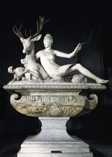 BnF - Dessins de la Renaissance #paris #sculpture #france #cerf #stag #chteau #diane #louvre #1549