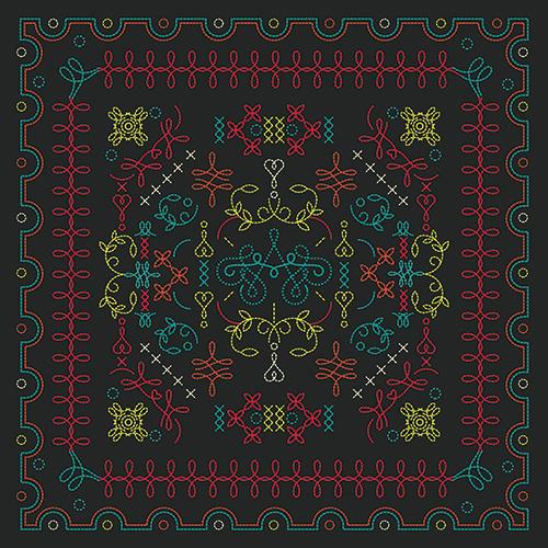 Portugal Creates - Ana Types Type #pattern #color #oporto #portugal #ornament #square #type #porto