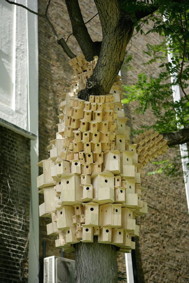 spontaneous_city_london_fieldworks3 #birdhouse