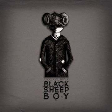 Black Sheep Boy Redesign on the Behance Network #album #ink #boy #black #illustration #pen #and #okkervil #sheep #river