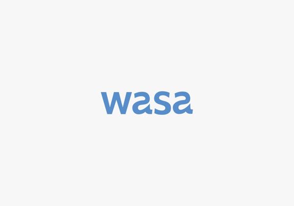 Wasa logotype #agency #branding #packaging #co #viet #qung #hiu #vn #dng #logo #bratus #k #logotype #vit #water #drop #blue #mark #nam #t #thit #thng #b #cty #xy #bao
