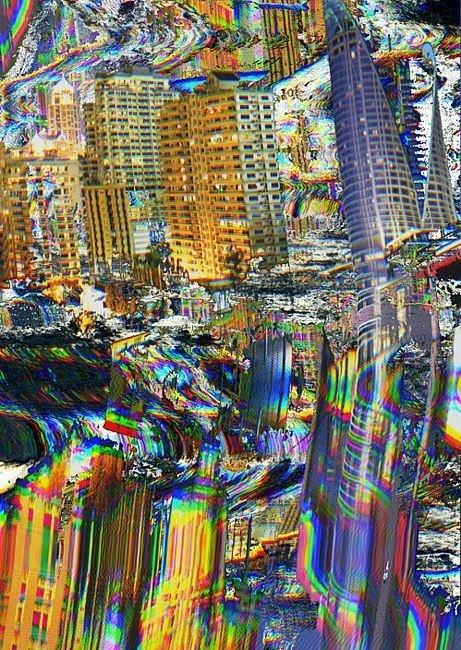 Gareth Proskourine-Barnett   PICDIT #design #glitch #art