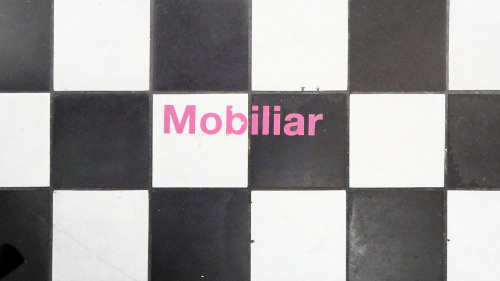 Mobiliar _typography PHOTOGRAPHIE © [ catrin mackowski ]