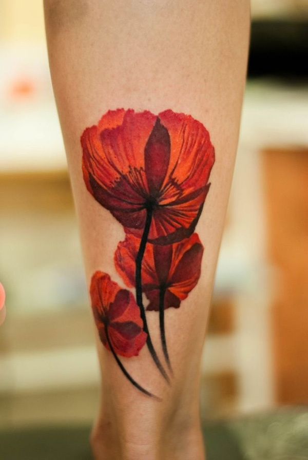 55+ Beautiful Flower Tattoo Designs #flower #tattoo #designs