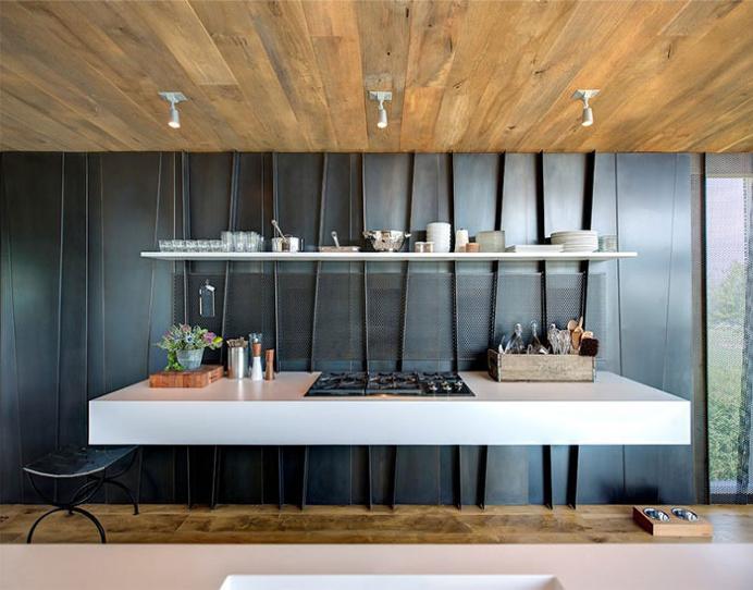 Elegant Eco-Friendly Beach Residence - #kitchen, kitchen ideas, kitchen design, #furniture