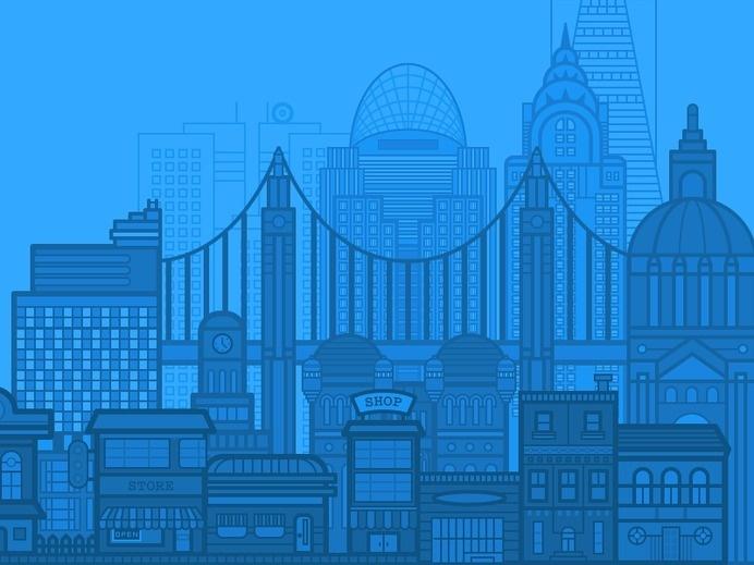 Trivantis City Illustration #illustration #city #trivantis
