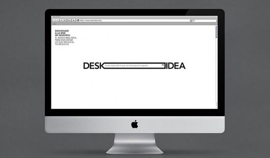 Deskidea   Identity Designed #logo #identity #web