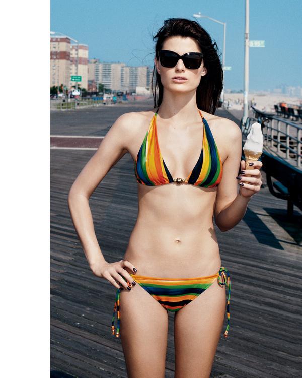 "VISUELLE: ""Rock Away"" : Isabeli Fontana : Bergdorf Goodman Magazine's Resort Swim Collections : Angelo Pennetta #goodman #pennetta #bergdorf #angelo #isabeli #fontana"