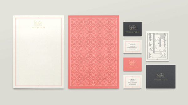 Frida von Fuchs #stationary #cards #business