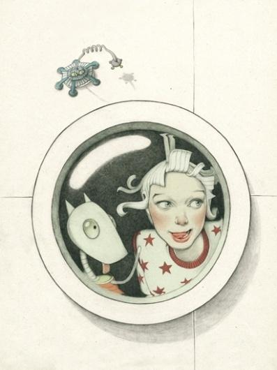 planet adventures / edible planet | Denise van Leeuwen #illustration