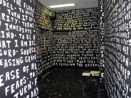 tumblr_ldbg19DsG11qzioo4o1_500.jpg (Immagine JPEG, 500x375 pixel) #interior #design #graffiti