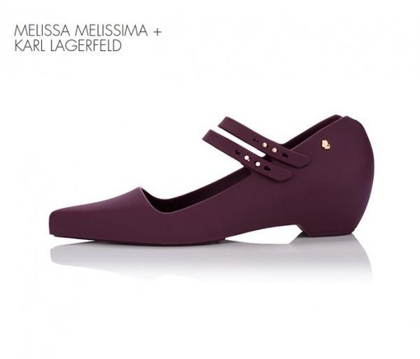 Karl Lagerfeld present Melissima shoe #karl #shoes #cream #artistic #lagerfeld #ice