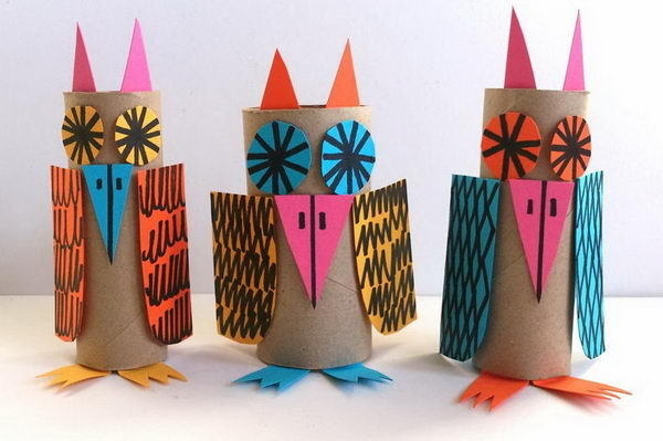 60 Homemade Animal Themed Toilet Paper Roll Crafts #diy #toilet #crafts