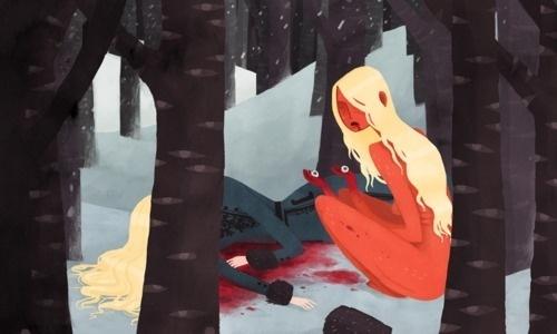 http://gingerhaze.tumblr.com #fantasy #illustration #vector