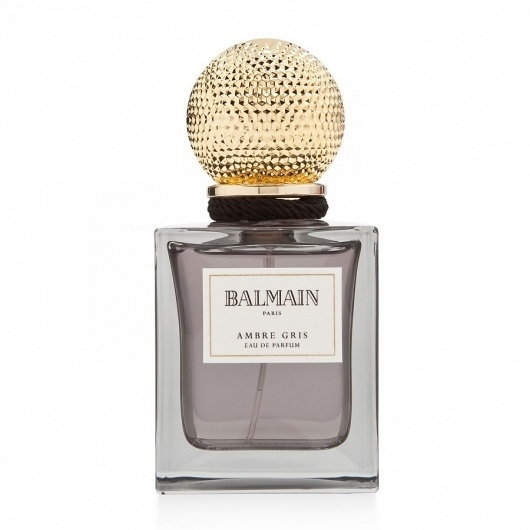 balmain-ambre-gris.jpg (900×900) #packaging #design #perfume #gold #parfum #metallic #package