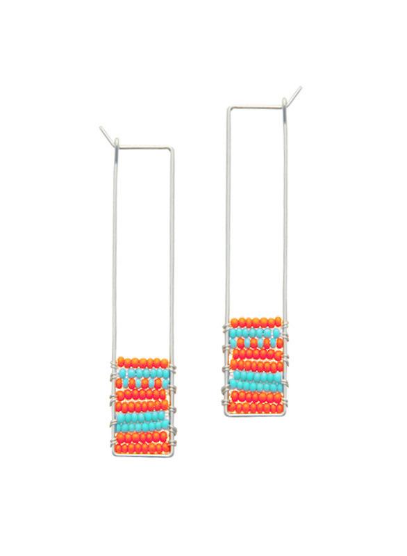 K Y Y O T E — Soma Beaded Earrings #earrings #jewelry