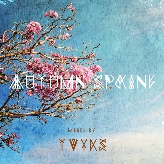 autumn spring mix | tvyks #tree #sky #tvyks #mixtape #cover #autumn #music #spring #mix