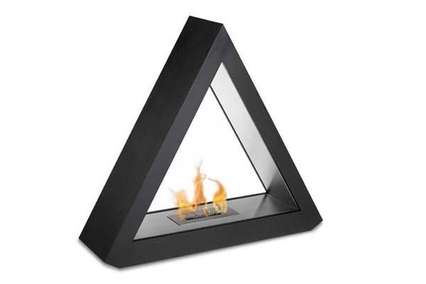 Quantum Ethanol Fireplace #tech #modern #design #futuristic #craft #illustration #industrial #art