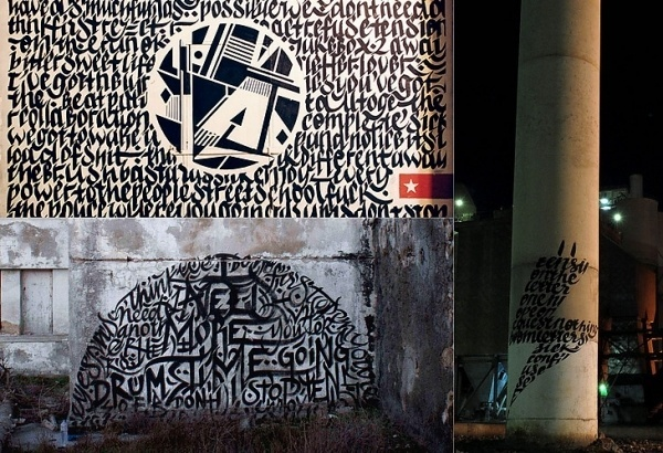 The Ministry of Type #design #street #art #typography
