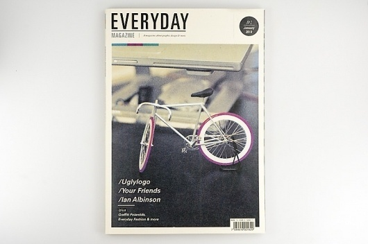 –Everyday Magazine : Mikael Fløysand #cover #magazine