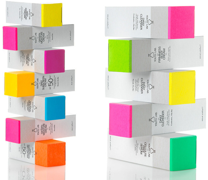 Youth lab cosmetics   mousegraphics #packaging #skincare