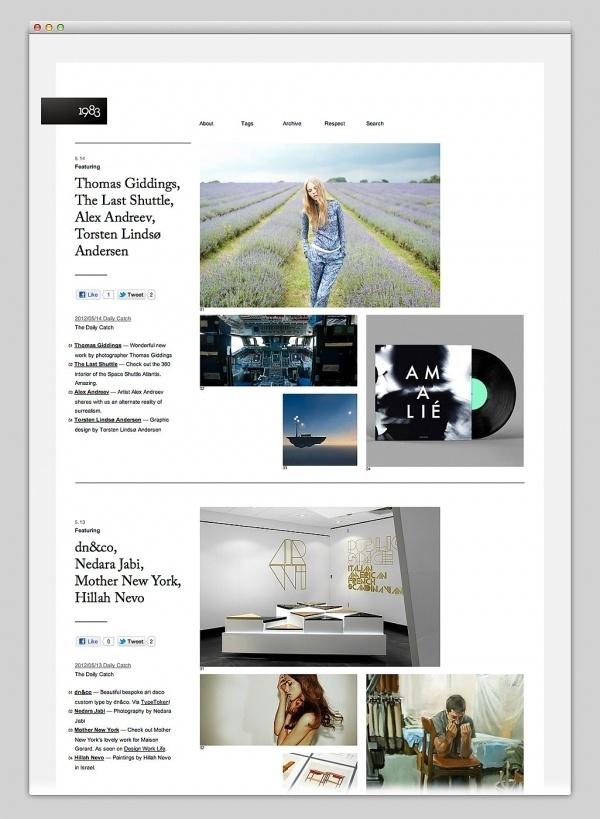 Websites We Love #design #web #webdesign