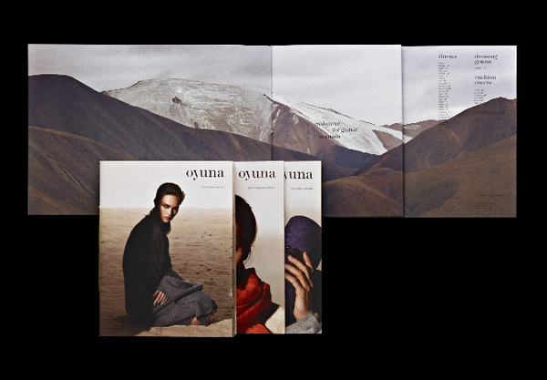 Micha Weidmann Oyuna Catalogues Covers Fold Out #print
