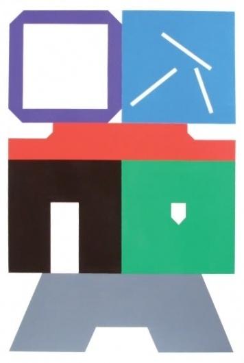 gergo szinyova: TTT #painting #color #geometry #art