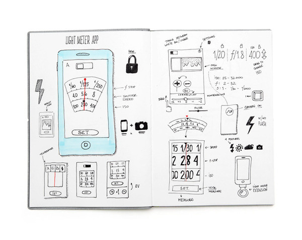 LightMeter App - Anton Repponen #interface #ui #iphone #app #lightmeter