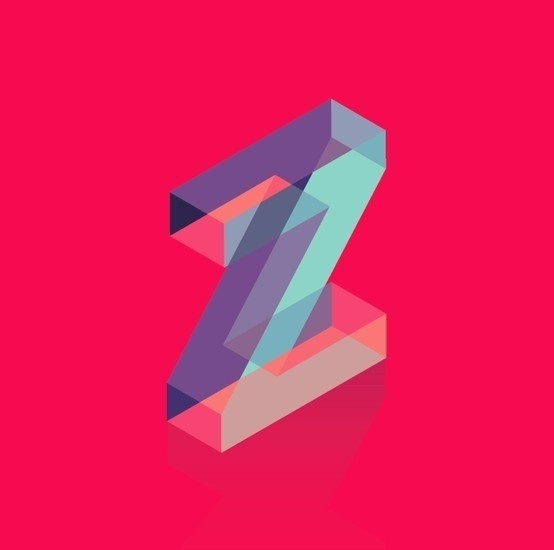 t y p e / Daily Drop Caps Z Mahmoud Bachir #dropcap #capital #design #graphic #letter #shape #alphabet #type #colour #experiment #typography
