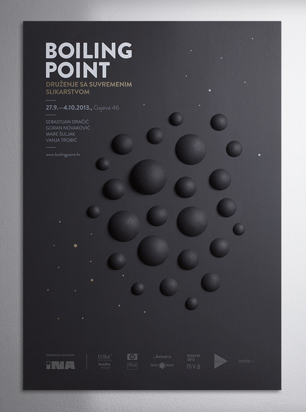 Boiling Point #boiling #black #point #poster #circle #3d