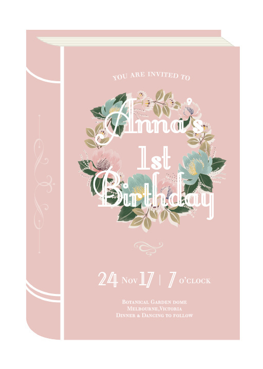 Once Upon A Time - Birthday Invitations #birthday #invitation #birthdayinvitation #paper #design #print #digitalprint #paperlust #wedding #