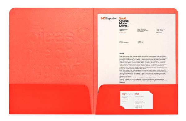 Iho5 #letterhead #branding #knoll
