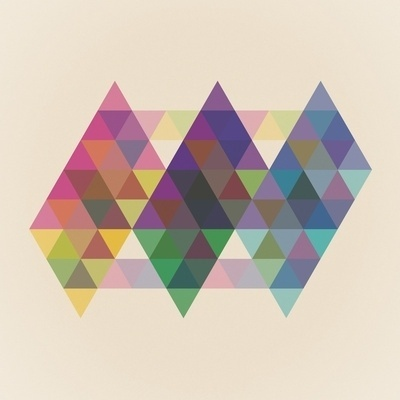 Fig. 034 Art Print by Maps of Imaginary Places | Society6 #geometry #prints #design #shapes #geometric #colors #poster #art #triangles