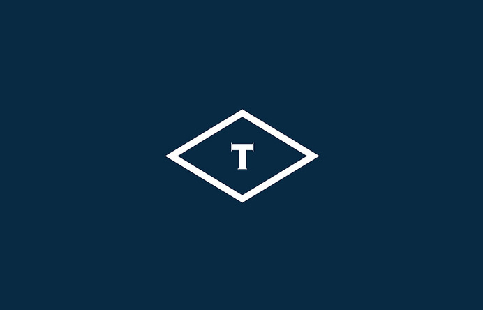 Logo designed by Anagrama for British multinational venture capital firm Tourean #logo