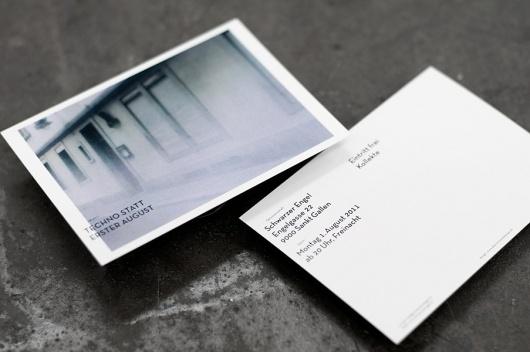 Techno statt erster August : dominic rechsteiner / Bench.li #card #business