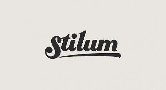 All sizes | stilum logo | Flickr - Photo Sharing! #type #lettering #script #logo