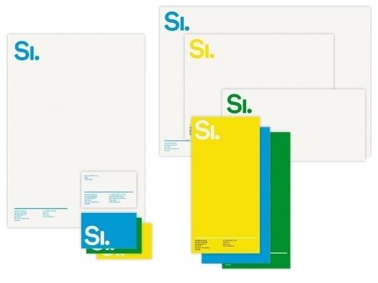 Identity   Stockholm Designlab #stationary #branding #head #letter #logo