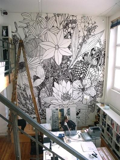 swedish province flowers / wallpaper on the Behance Network