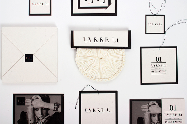 fictitious limited edition, created for musician lykke li #limited #edition #packaging #design #students #corporate #music #wool #special #fabrics #work