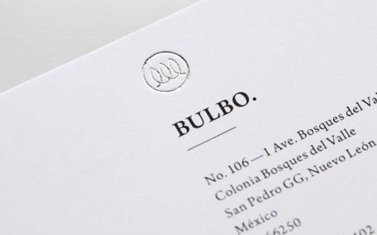 Anagrama | Bulbo #logo #print #identity #stationery