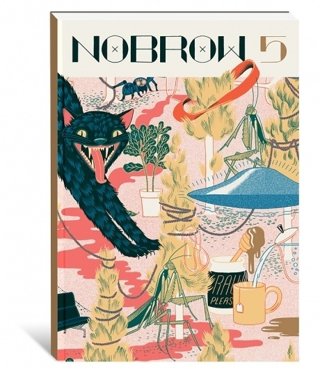 Nobrow – Nobrow 5: A Few of my Favourite Things (Pre-order) #nobrow #micah #pattern #lidberg